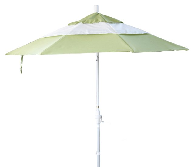 9' Malibu Patio Umbrella, Green