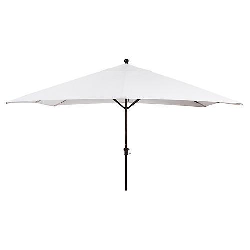 Rectangular Patio Umbrella, Natural