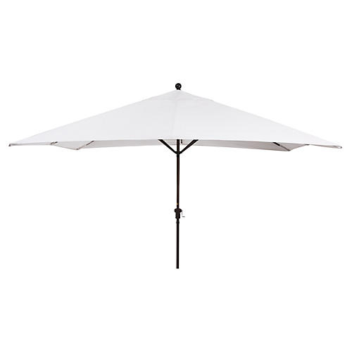 Rectangular Patio Umbrella, Natural