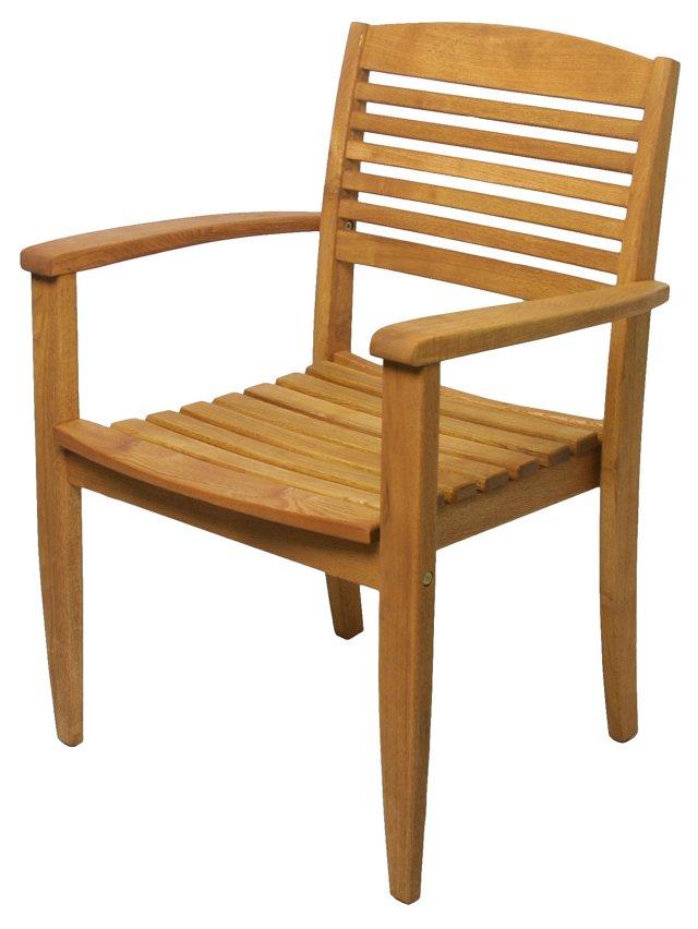 Iris Stacking Armchair