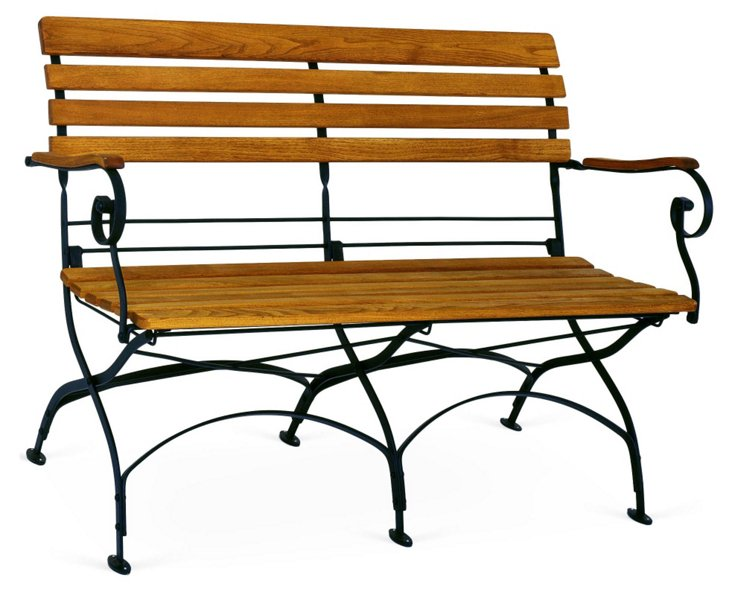 Rebecca Folding Two-Seater Bench