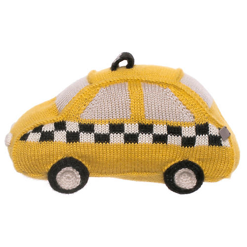 Taxi Plush Toy, Yellow/Multi