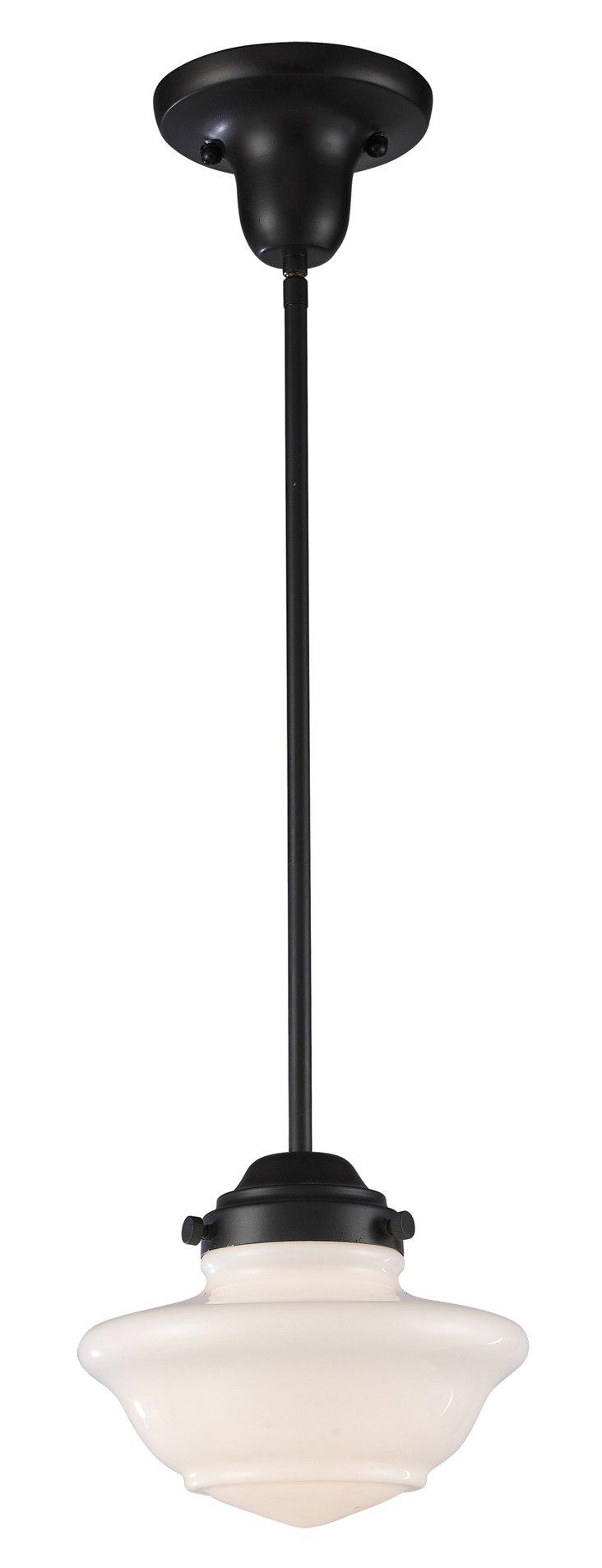 Lavinia 1-Light Pendant, Bronze
