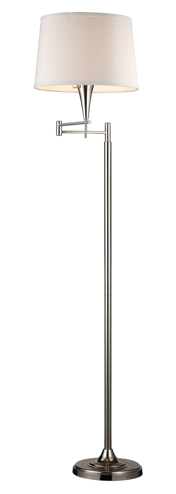 Nevis Floor Lamp, Polished Chrome
