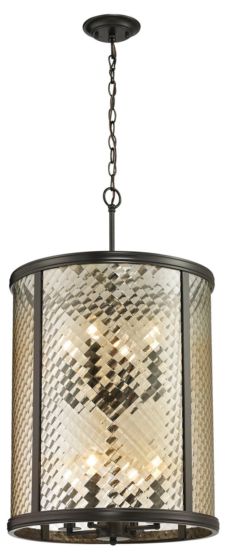 Chandler 8-Light Pendant, Bronze