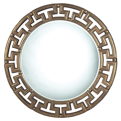 Edina Wall Mirror, Gold