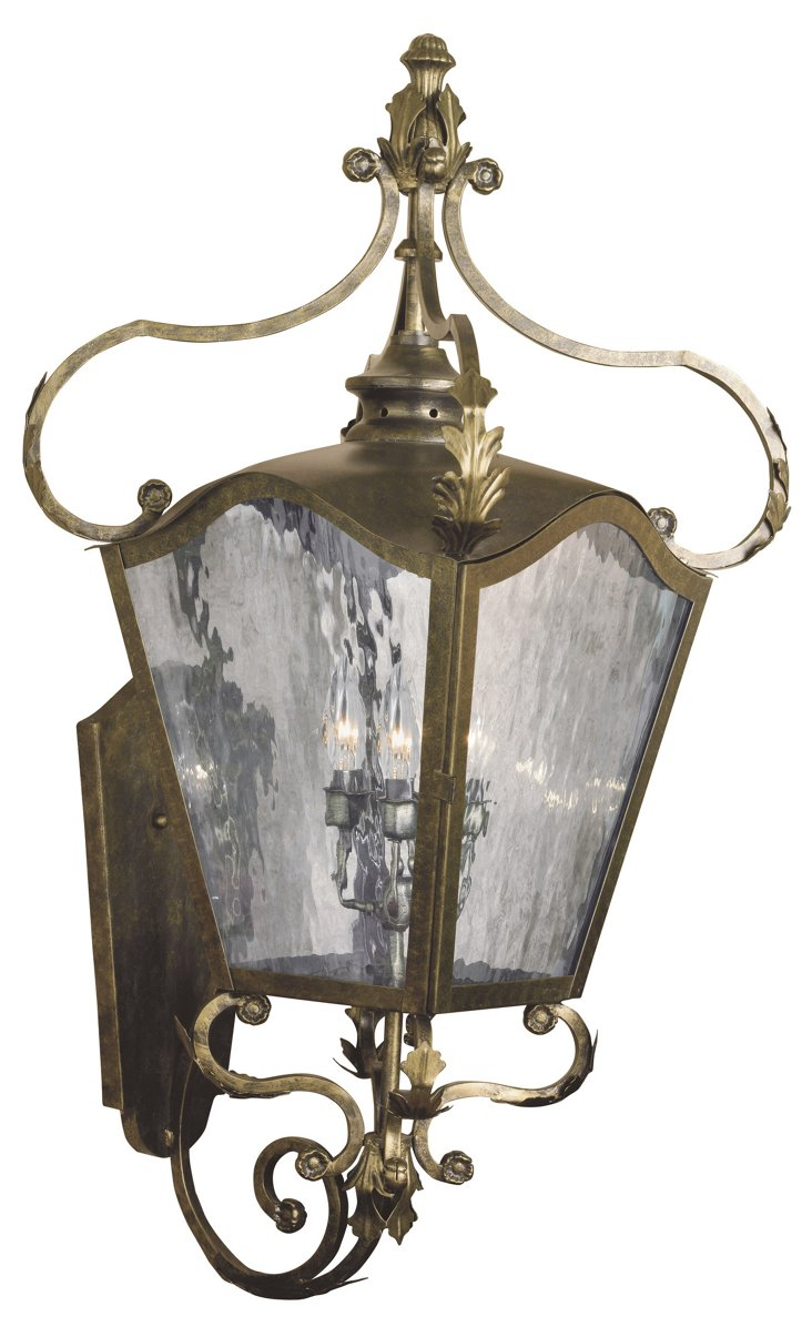 Acadiana 3-Light Wall Lantern, Large