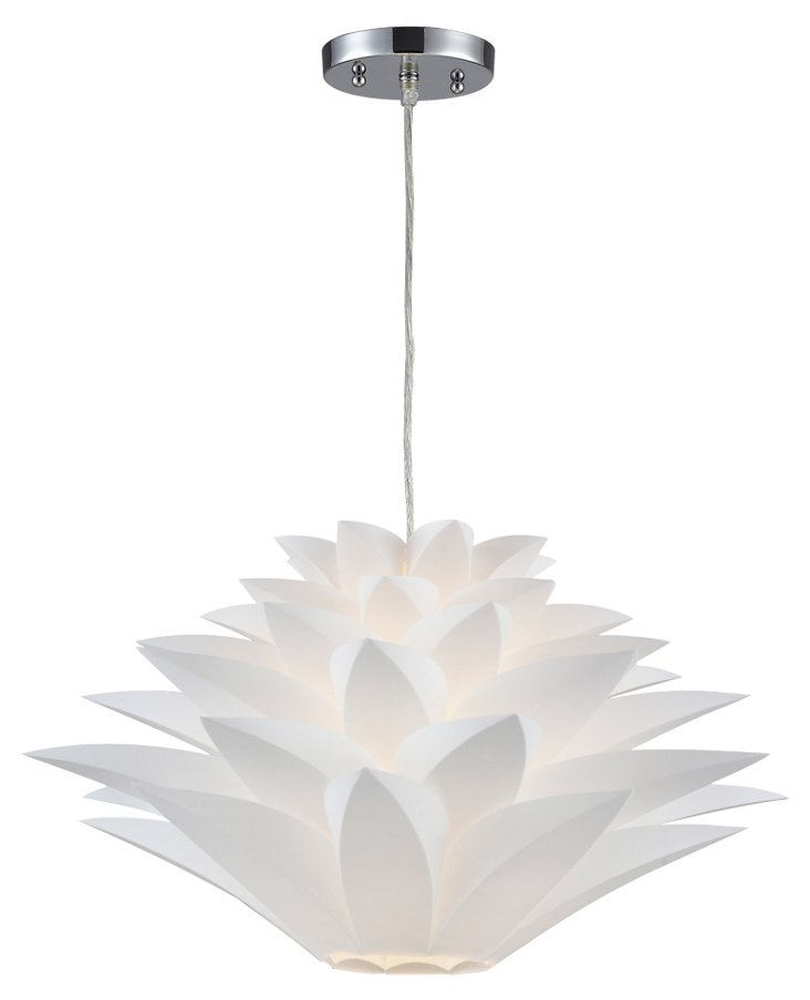Inshes 1-Light Pendant, Large