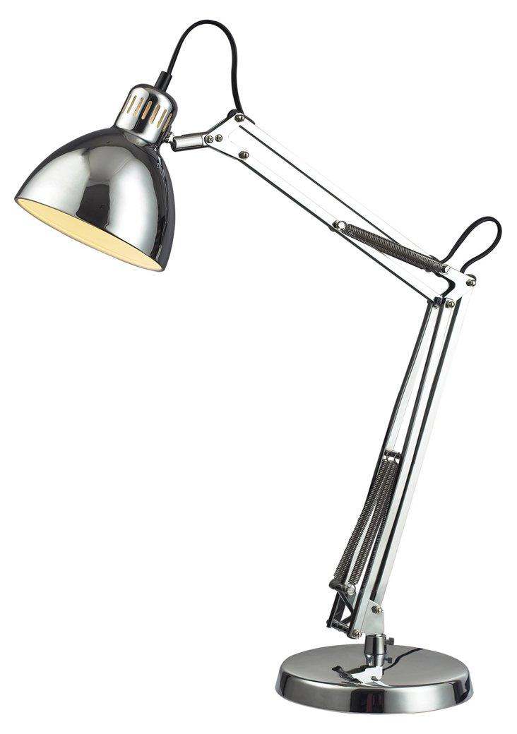 Ingelside Desk Lamp, Chrome