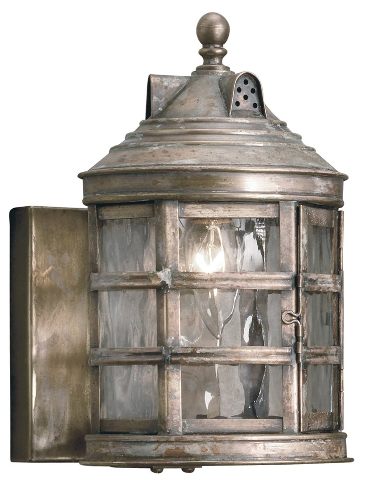 Charlotte 1-Light Outdoor Sconce, Bay