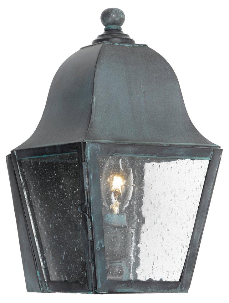 Ryker 1-Light Outdoor Sconce, Seeded