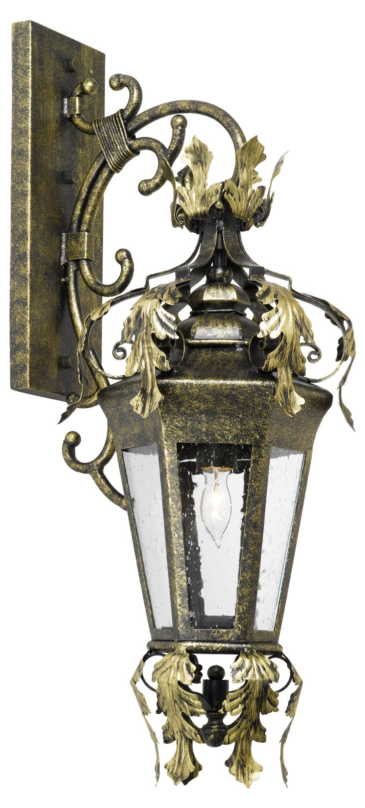 Palace 1-Light Outdoor Sconce, Bronze