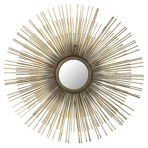 Nora Wall Mirror, Gold