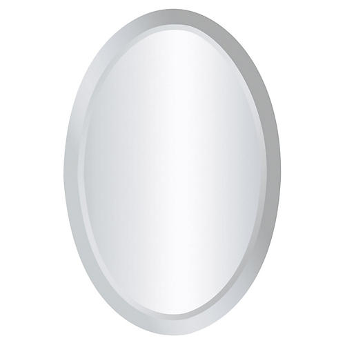 Chardron Walll Mirror, Mirrored