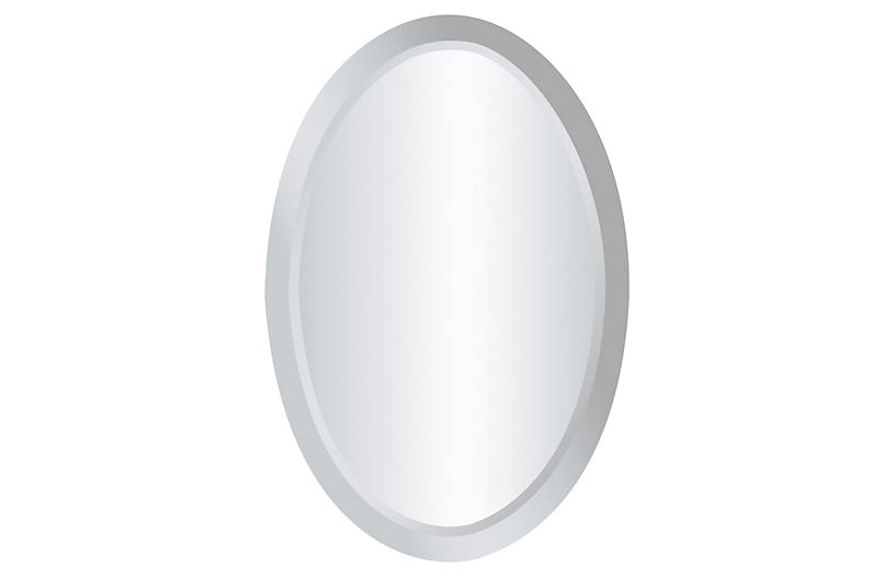 Chardron Walll Mirror, Mirrored