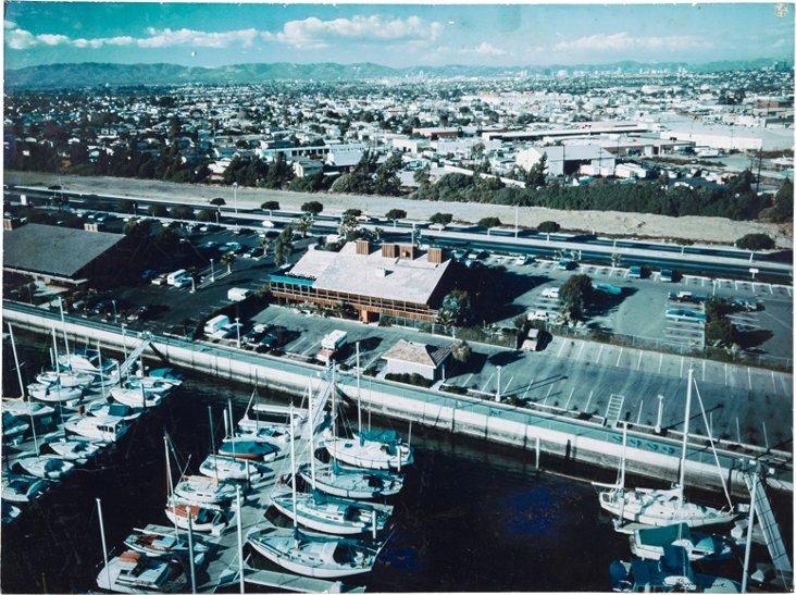 Unframed 1970s Marina del Rey Photo