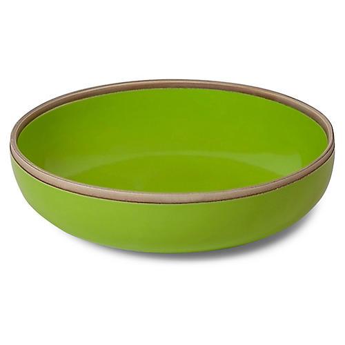 Hermit Bowl, Green/Natural