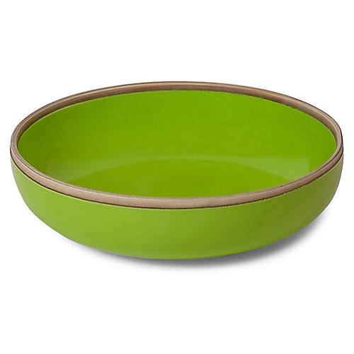 Hermit Bowl, Green/Natural