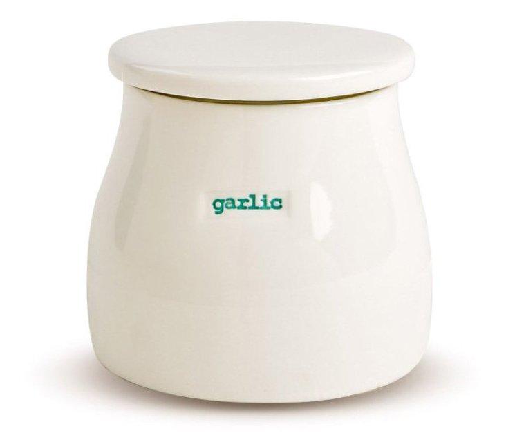 "Porcelain ""Garlic"" Pot"