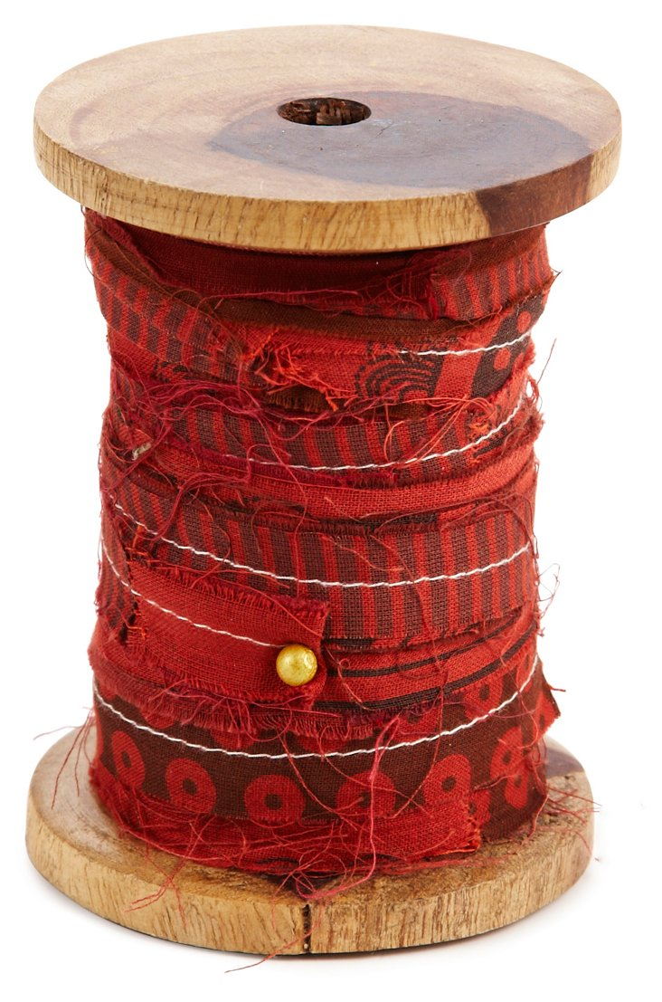 Recycled Ribbon, Red
