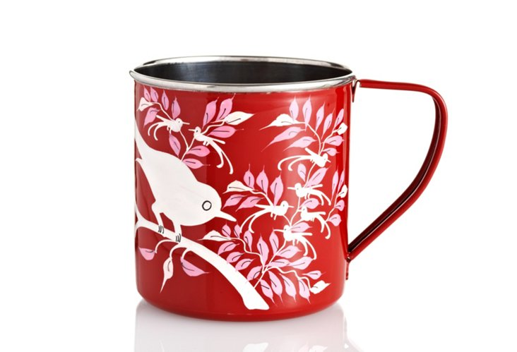 S/4 Eva Mugs, Red