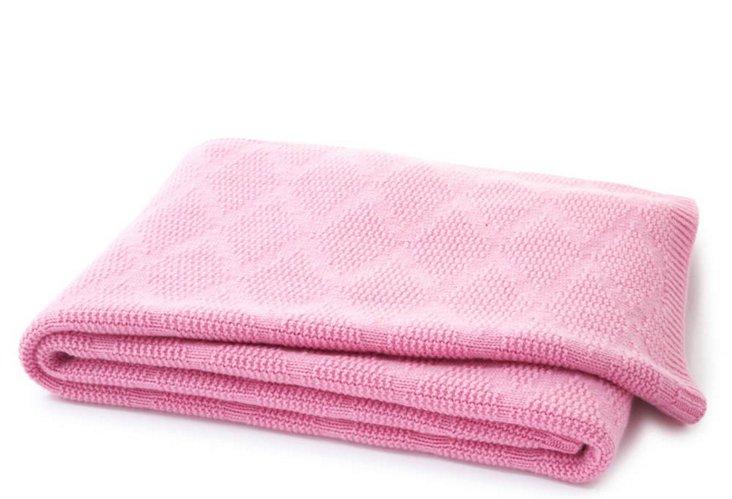 Diamond Throw, Bubblegum Pink