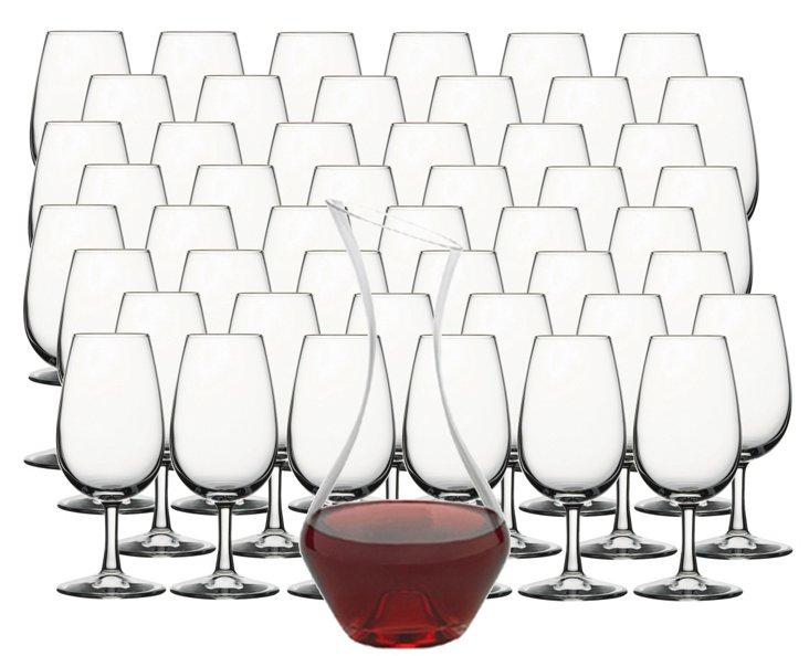 49-Pc Essential Wine Tasting Set