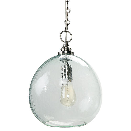 Glass Float Pendent, Recycled Glass