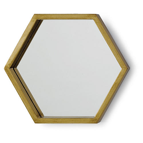 S/5 Bee Hive Accent Mirrors