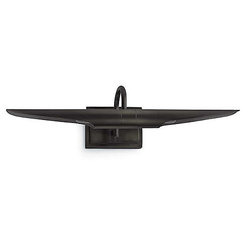 Redford Small Picture Light, Oil-Rubbed Bronze