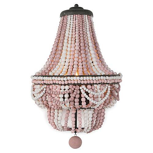 Malibu Sconce, Weathered Pink
