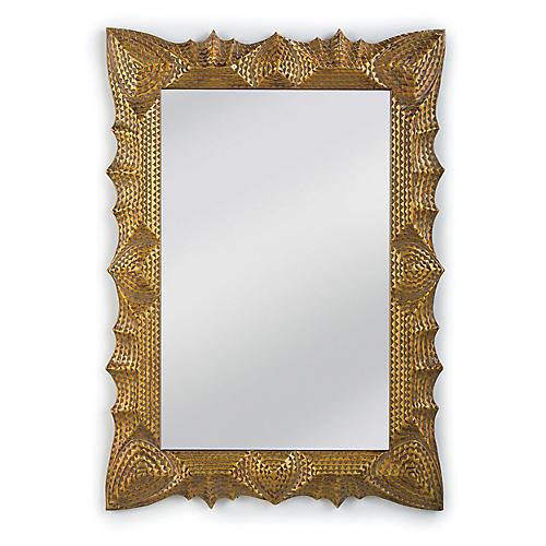 Tramp Wall Mirror, Gold