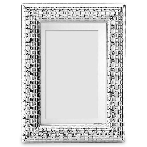 Watchband Picture Frame, Silver