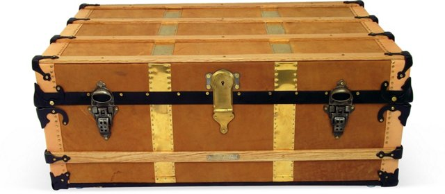 Chicago Cabin Trunk, C. 1890