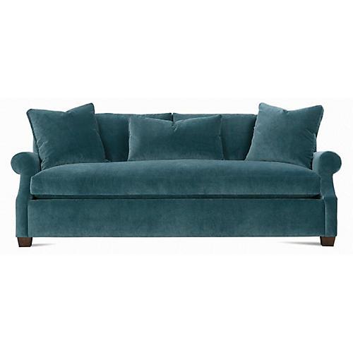 Bristol Roll-Arm Sofa, Mediterranean