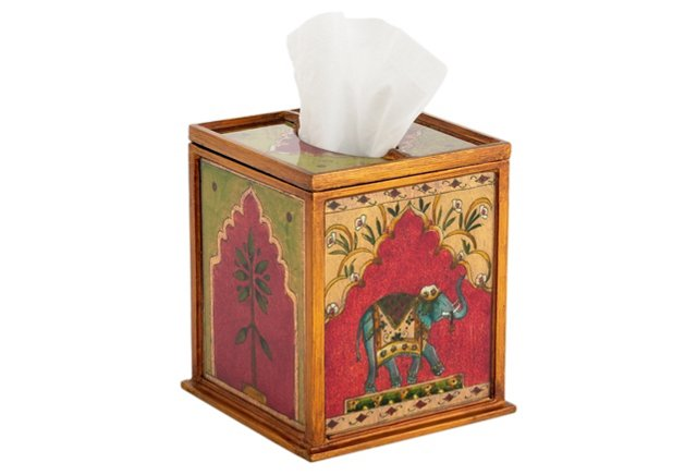 Boutique Tissue Box, Elephant