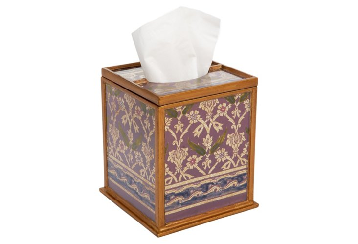 Square Tissue Box, Antigua
