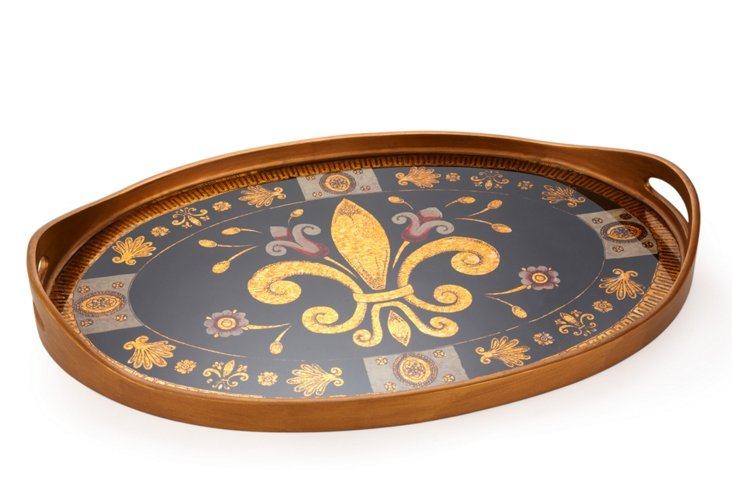 Oval Tray, Michele