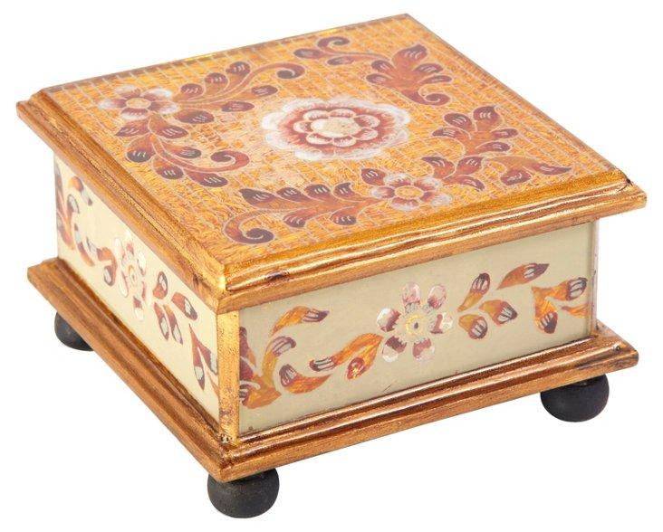 """4"""" Square Box, El Dorado"""