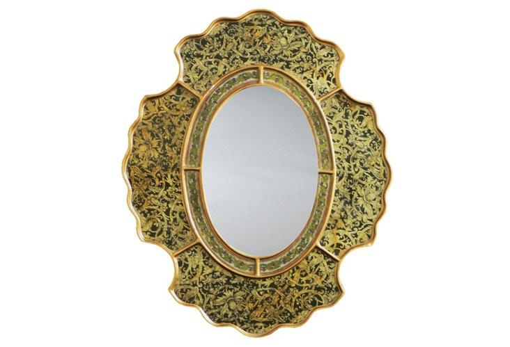 Scalloped Mirror, Toledo