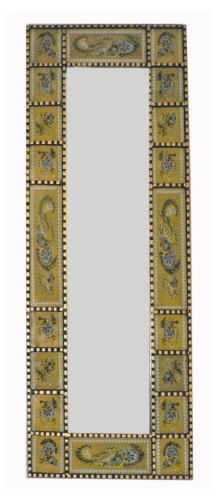 Cuzcaja Oversize  Mirror, Yellow