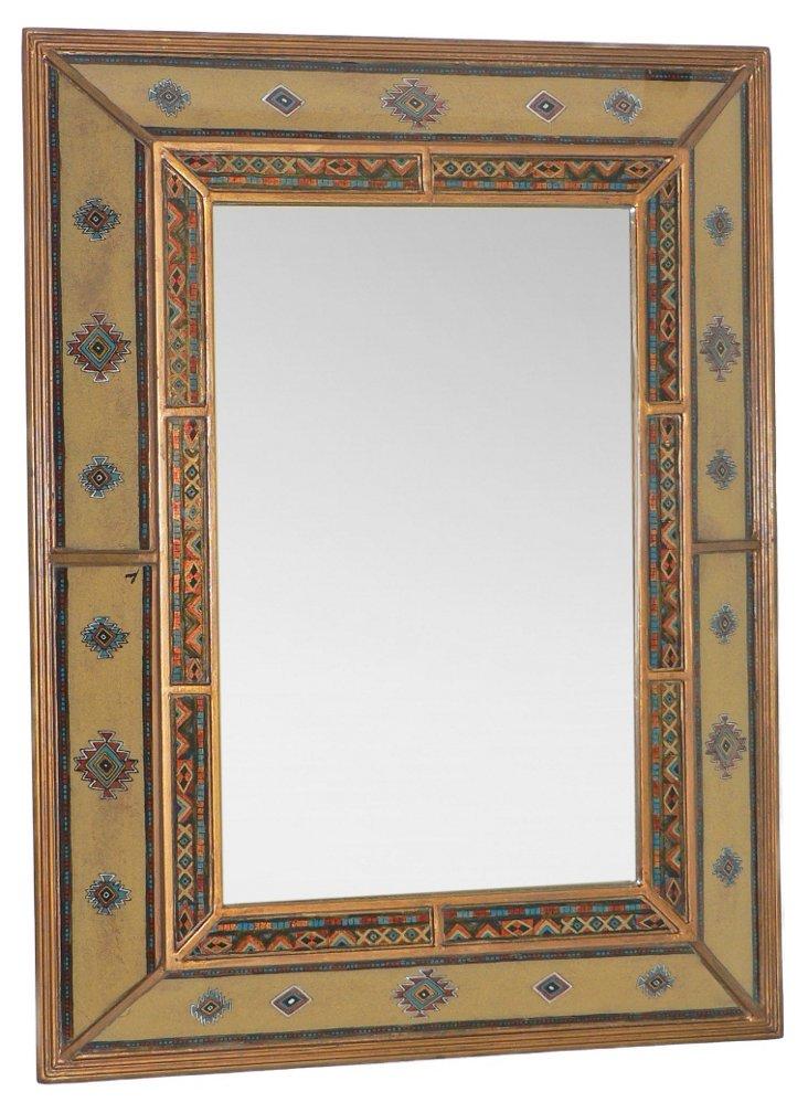 Double Angular Wall Mirror, Toledo
