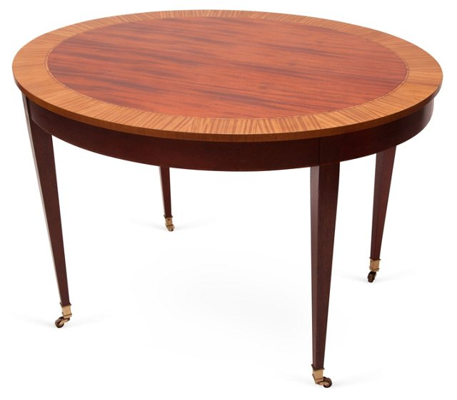 Baker Wood Dining Table