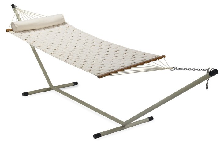 Quilted Hammock (w/o Stand), Cream