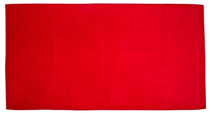 Deck Beach Towel, Red