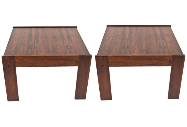 Kasparian Occasional Tables, Pair