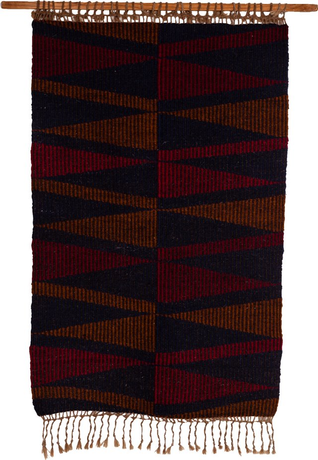 Eileen Embry Handwoven Wool Tapestry