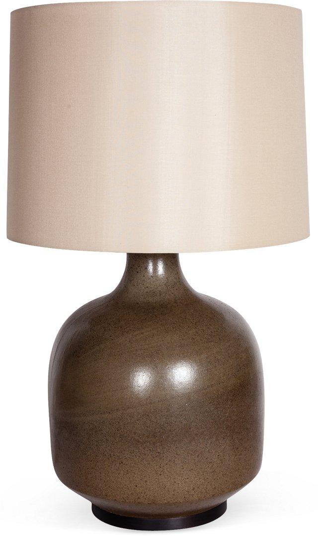 David Cressey Olive Table Lamp