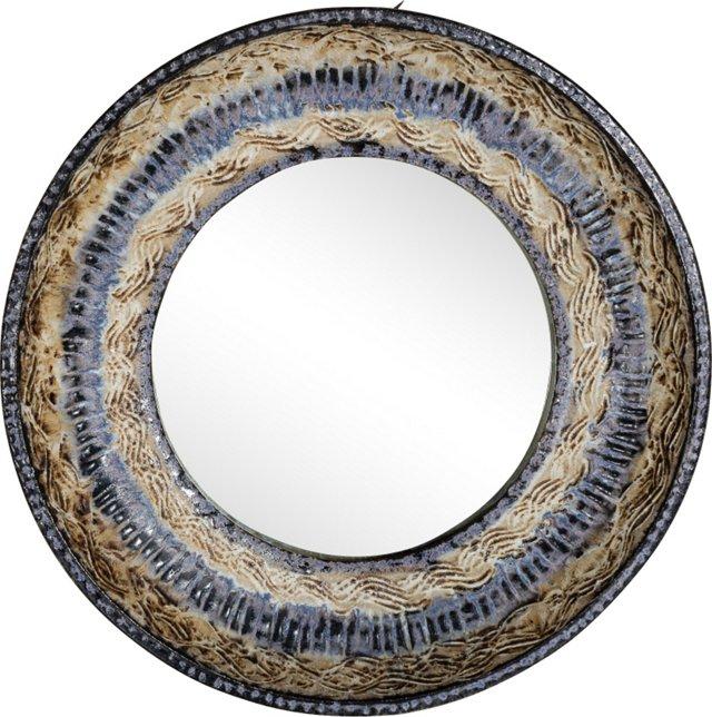 Oscar Bucher Circular Mirror