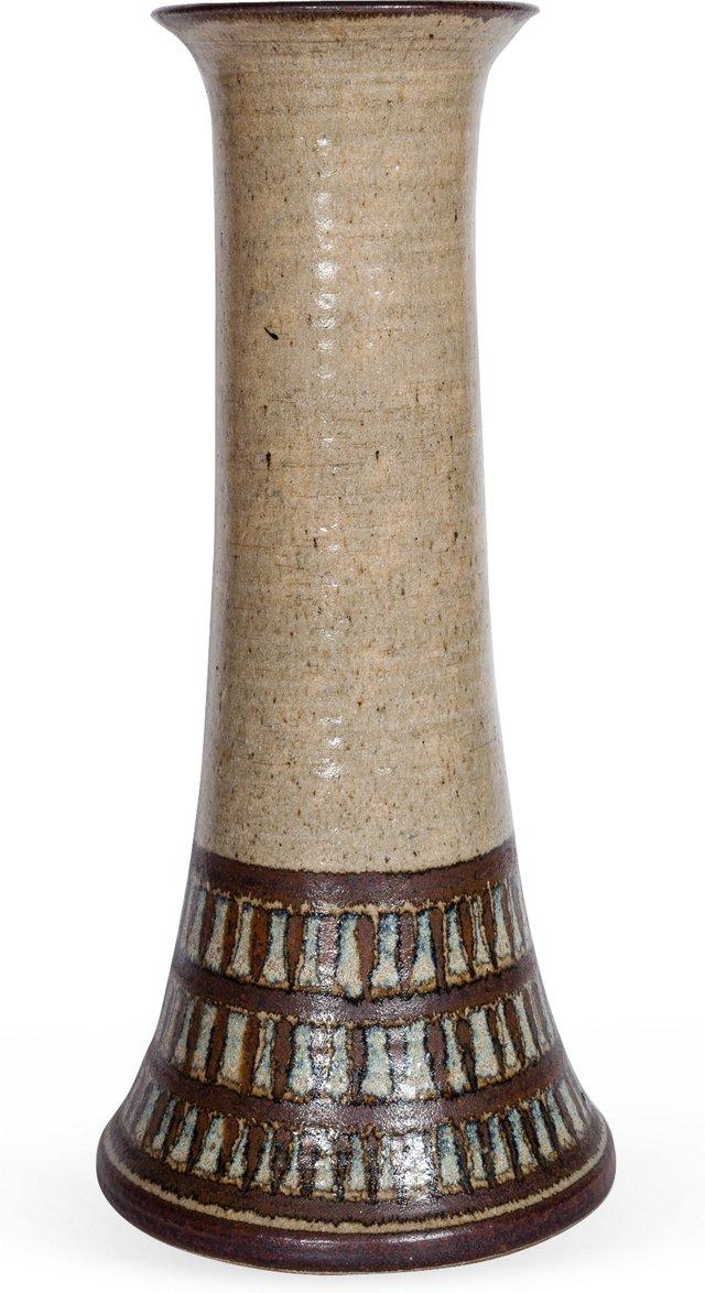 Wishon Harrell Ceramic Floor Vessel